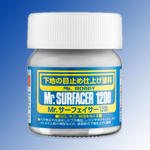 Mr. Surfacer 1200 - Gray - Brush-On - 40ml