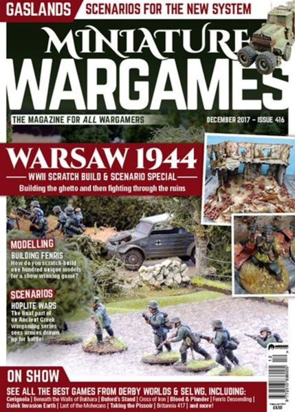 Miniature Wargames Issue 416