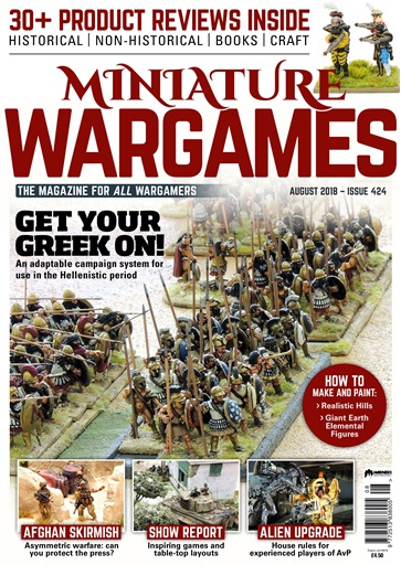 Miniature Wargames Issue 424
