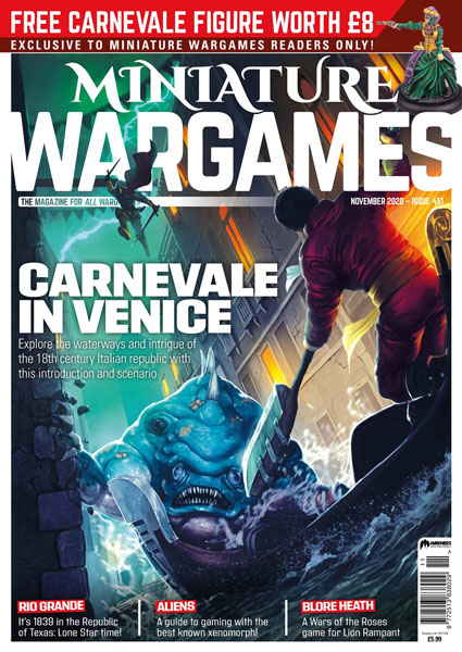 Miniature Wargames Issue 451