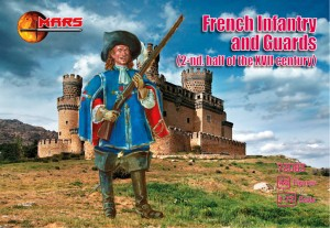 French Infantry & Guards 1650-1700
