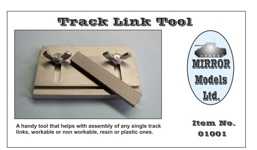 Track Link Tool for Plastic & Resin Single Track Links, Workable or Non-workable
