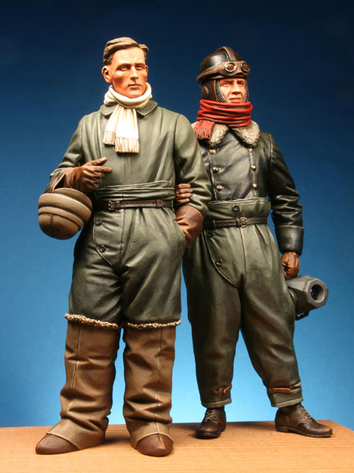 WWI German Aviators Pilot & Observer - ONLY 1 AVAILABLE
