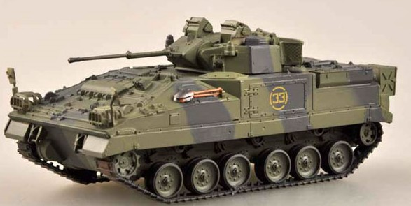 MVC 80 (Warrior) Tank 1st Bn Based at Germany 1993 (Built-Up Plastic)