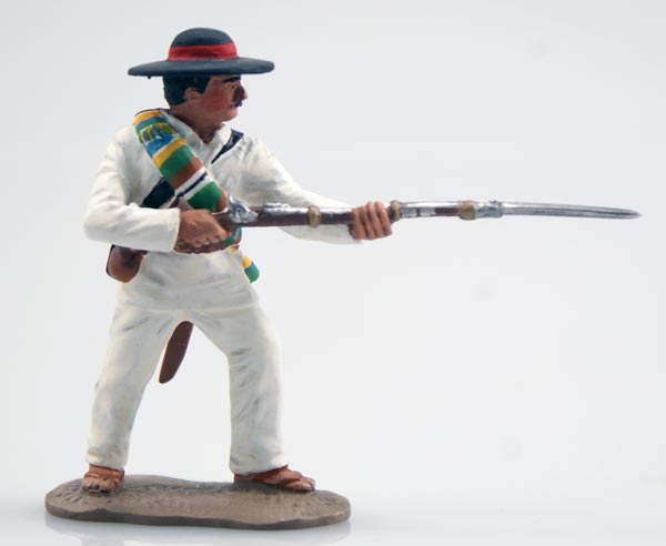 The Mexican Adventure 1861'67: Mexican Militia Defending with Rifle & Bayonet