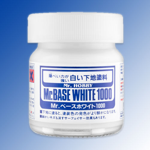 Mr. Base White 1000 - Brush-On  -40ml