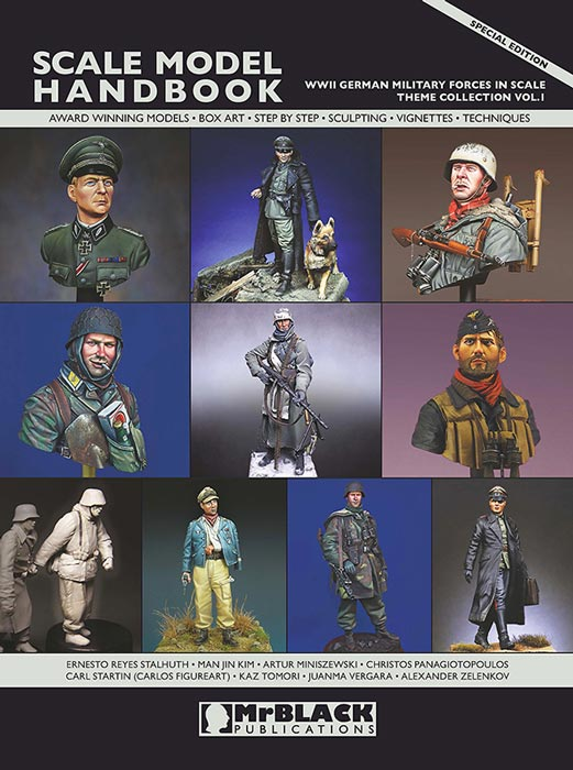 Mr. Black Theme Collection Vol.1 WWII German Military Forces  In Scale