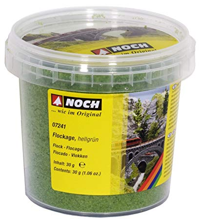 Flock - Light Green 1oz (30g) Plastic Tub
