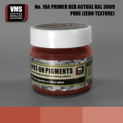 Spot-On Pigment- Primer Red RAL 3009 Actual Pure Pigment