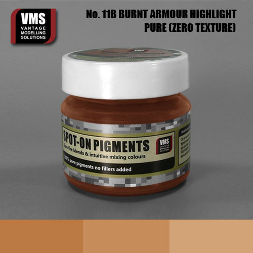 Spot-On Pigment- Burnt Armour Highlight Pure Pigment