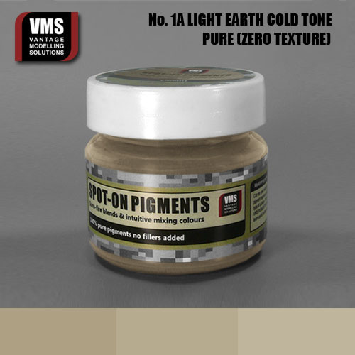 Spot-On Pigment- European Light Earth Cold Tone Pure Pigment