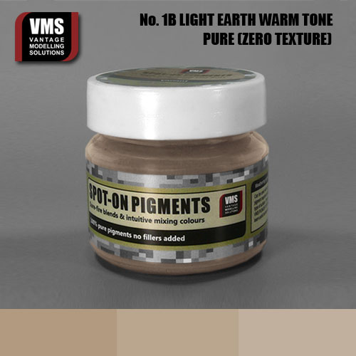 Spot-On Pigment- European Light Earth Warm Tone  Pure Pigment