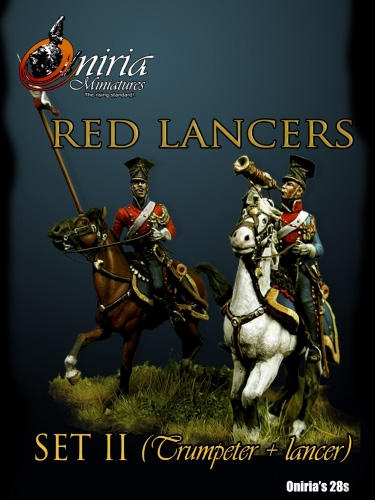Napoleons Red Lancers (Set II)