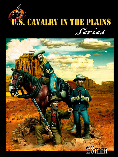 US Cavalry in the Plains set #1