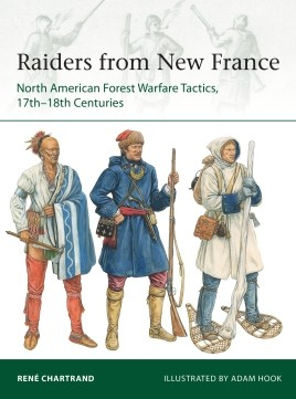 Osprey Elite: Raiders from New France