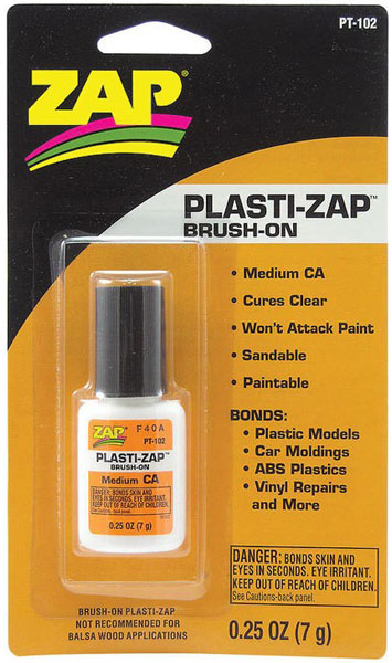 Plasti-Zap Brush-On 1/4oz