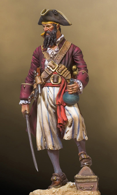 Pirates Of The Caribbean- Blackbeard 1680-1718