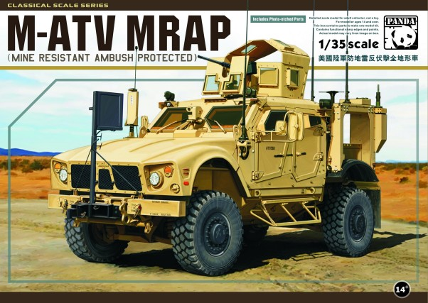 M-ATV MRAP Mine Resistant Ambush Protected Vehicle
