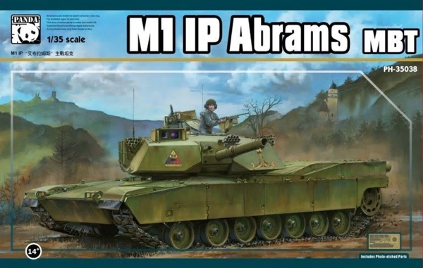 M1IP Abrams Main Battle Tank