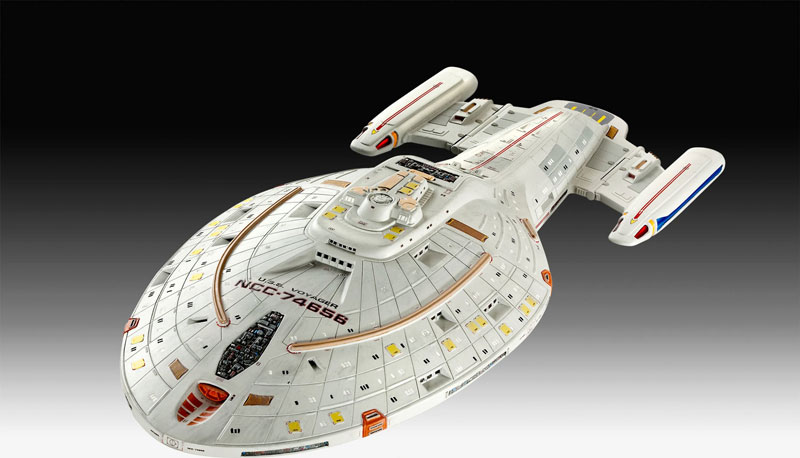 Star Trek USS Voyager Clear Edition