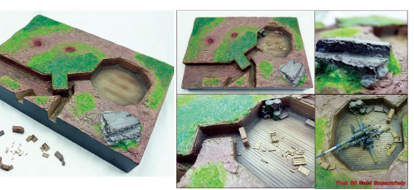 Stand Fast - Polystone and Resin Diorama ONE AVAILABLE