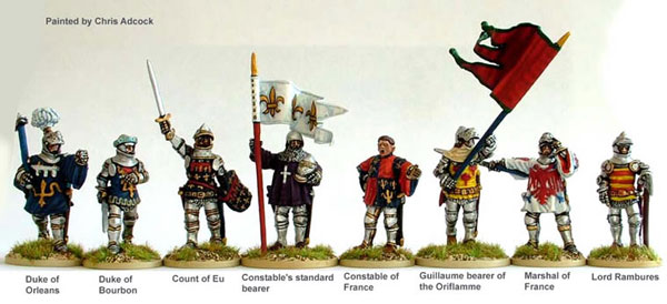 Hundred Years War: French Agincourt High Command (Foot)
