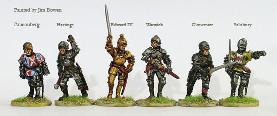 Wars Of The Roses: (York) Command & Warwick (Foot)