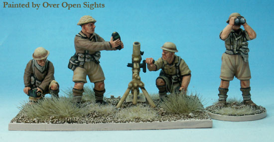 World War II: (British) 3in Mortar & Crew