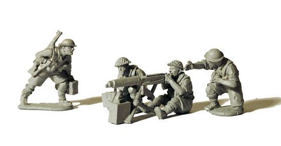 World War II: (British) Vickers Machinegun & Crew