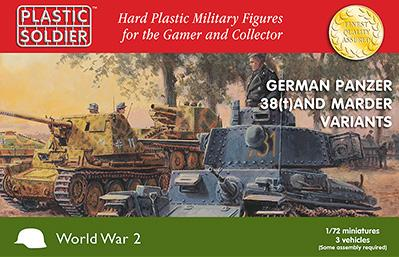 WWII German Panzer 38T and Marder options