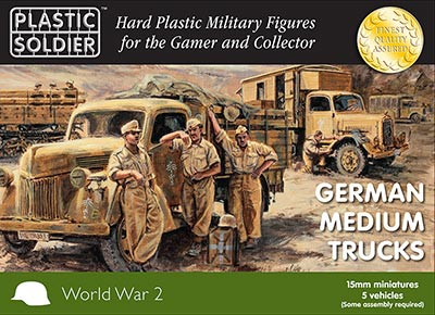 WWII German Medium Trucks