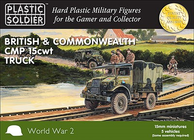 WWII British & Commonwealth CMP 15cwt Trucks (5)