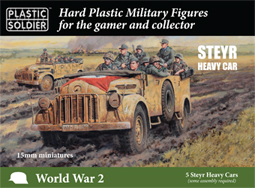 WWII German Steyr Heavy Car
