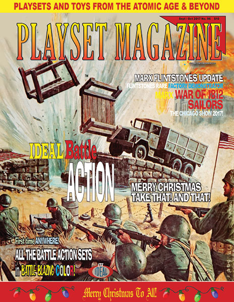 Playset Magazine Issue 96 Ideal Battleaction!