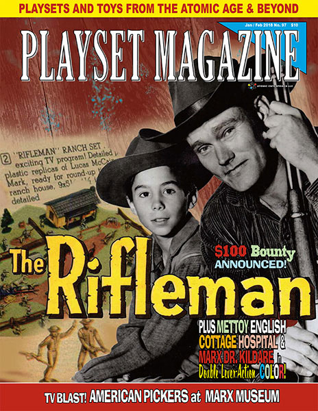 Playset Magazine Issue 97 Marx Rifleman