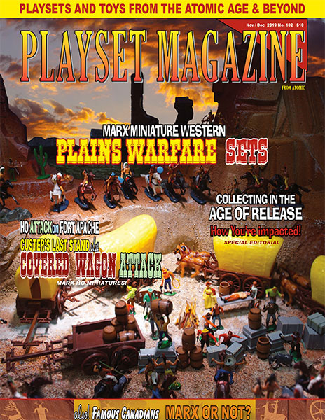 Playset Magazine Issue 103 Marx Miniature Western Plains Warfare Sets