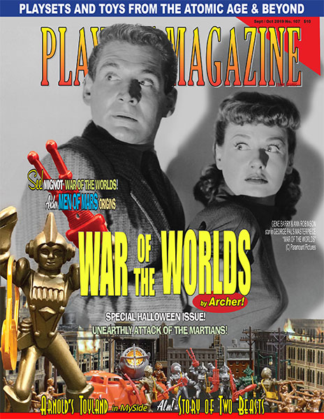 Playset Magazine Issue 107: Archers War Of The Worlds