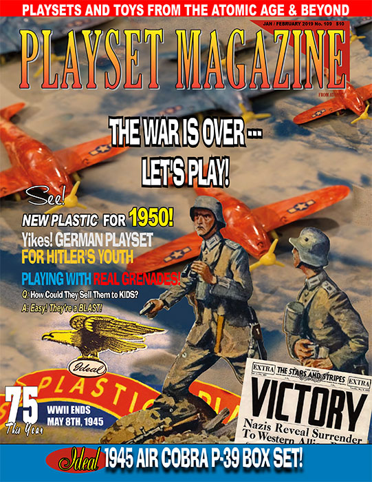 Playset Magazine Issue 109: The War is Over - Lets Play - ONLY 3 AVAILABLE AT THIS PRICE