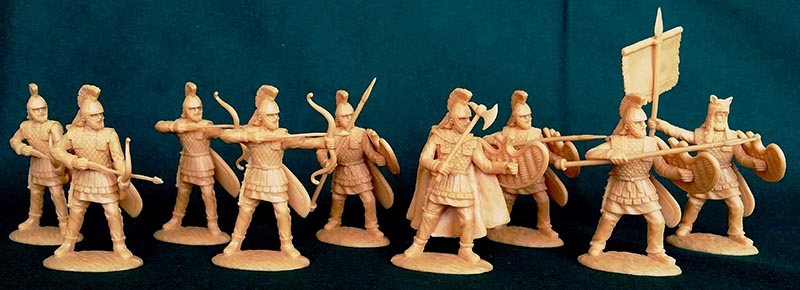 Ancient Persian Satrap Guard Infantry with Spear & Bow � Persians