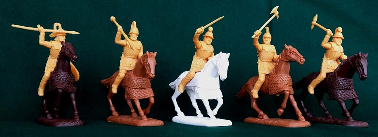 Ancient Persian Satrap Guard Cavalry