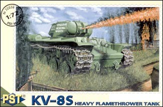 KV-8S Heavy Flame Thrower Tank