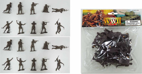WWII Russian Infantry 1941-45 Bagged Set