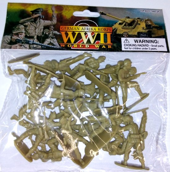 WWII German Afrika Corps Figures