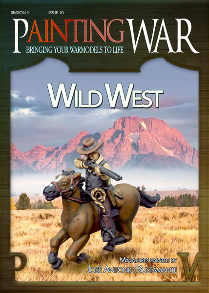 Painting War Volume 10 The Wild West