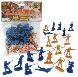 Alamo Bagged Figure Set