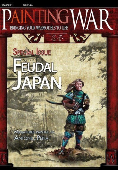 Painting War Volume 6 Feudal Japan