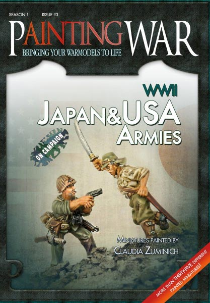 Painting War Volume 3  WWII U.S. & Japanese