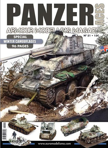 Panzer Aces Magazine no. 51 Special Issue Winter Camouflage
