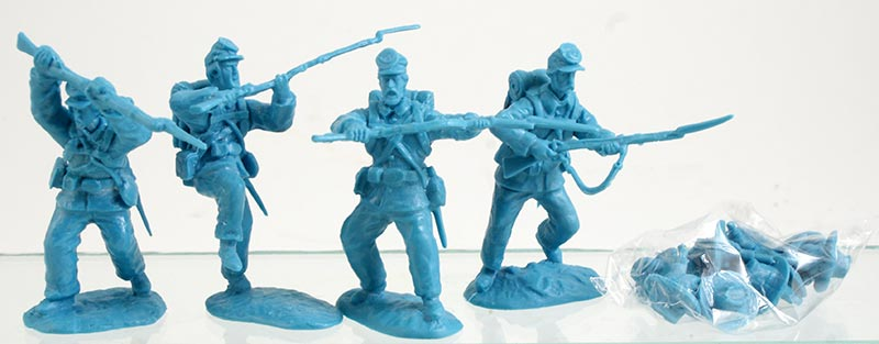 American Civil War Federals w/ Swoppable Swivel Heads