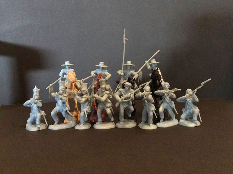 Alamo Mexican Regular + Cavalry Set #3